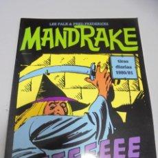 Cómics: TEBEO. MANDRAKE. TIRAS DIARIAS 1980 / 81. VOLUMEN 25º. Lote 142025778