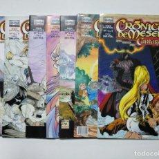 Cómics: CRÓNICAS DE MESENE : CANTARES. COLECCION COMPLETA DEL 1 AL 7). - ROKE / MATEO / AURE. TDKC39. Lote 142026346