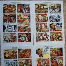 Cómics: PORTADAS (MASCARITA) 4 PAGINAS. Lote 142038918