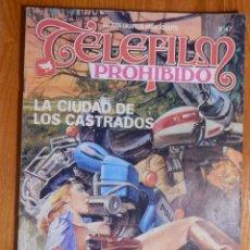 Cómics: RELATOS GRÁFICOS ADULTOS, TELEFILM PROHIBIDO Nº 67 UN GRAN HIJO DE, LA CIUDAD DE LOS C EDICOMIC 1984. Lote 142170146