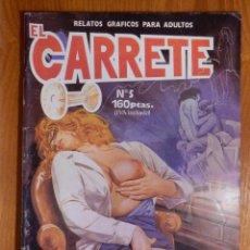 Cómics: RELATOS GRÁFICOS ADULTOS, EL CARRETE - Nº 5 - PSICO - OBSESIÓN - EDITORIAL ASTRI 1989. Lote 142170942