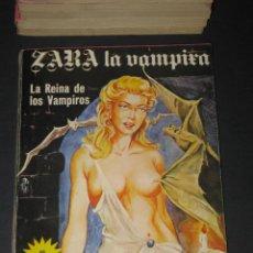 Cómics: ZARA LA VAMPIRA - EDICIONES ELVIBERIA - 1976. Lote 142240778