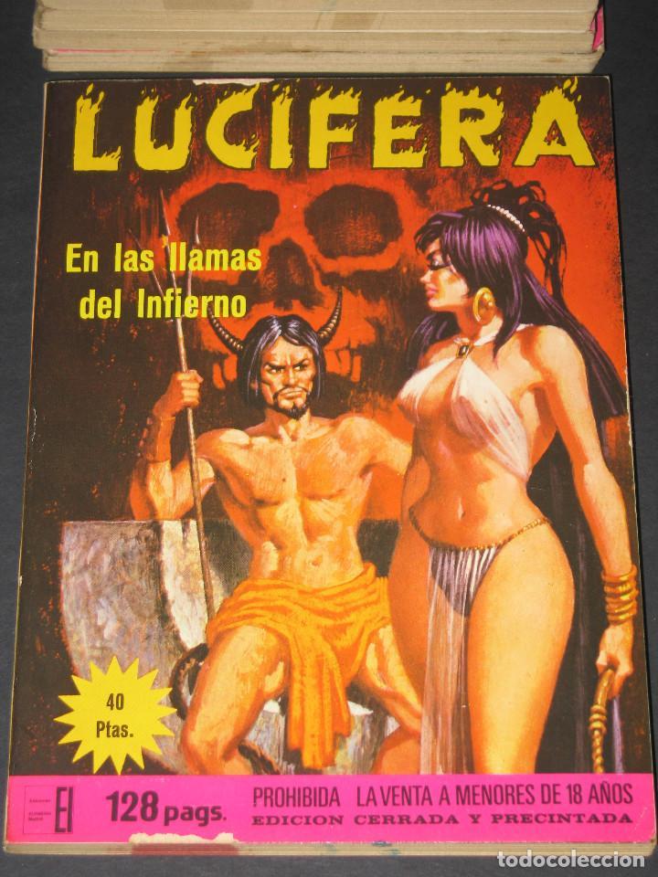 Cómics: LUCIFERA - Ediciones Elviberia - INCLUYE LOS NÚM. 5 y 7 - 1976 - Foto 2 - 142241318