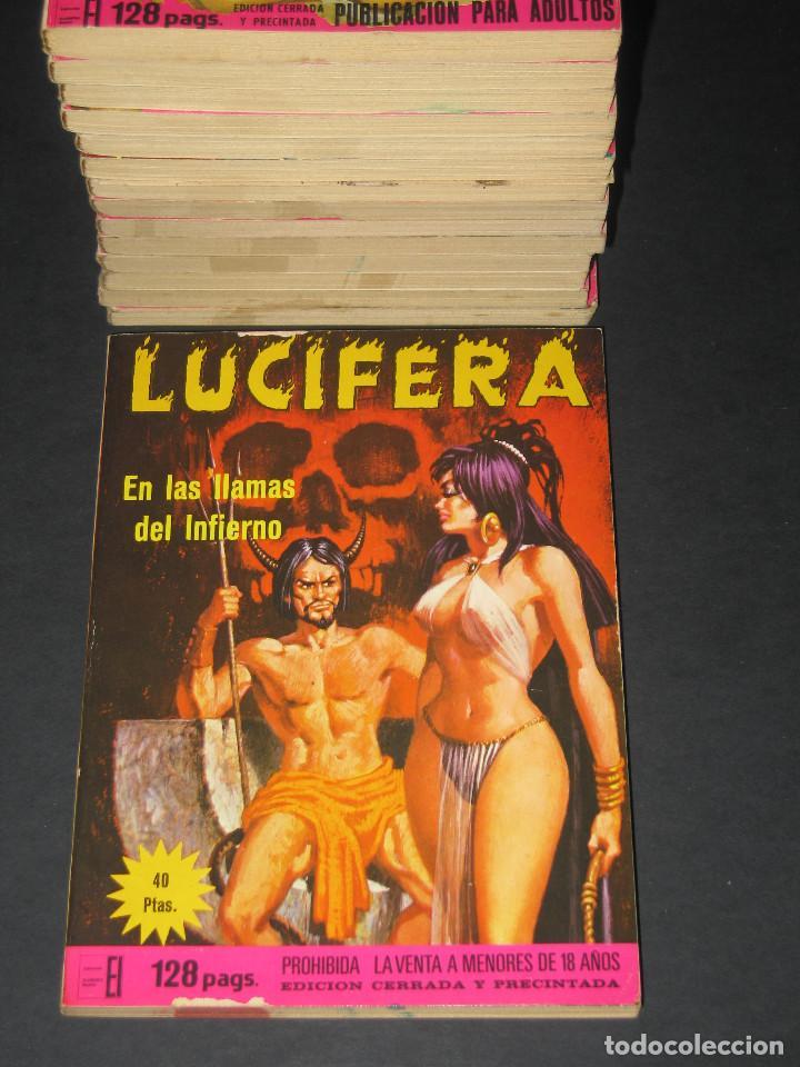 Cómics: LUCIFERA - Ediciones Elviberia - INCLUYE LOS NÚM. 5 y 7 - 1976 - Foto 3 - 142241318
