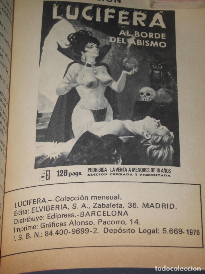 Cómics: LUCIFERA - Ediciones Elviberia - INCLUYE LOS NÚM. 5 y 7 - 1976 - Foto 6 - 142241318