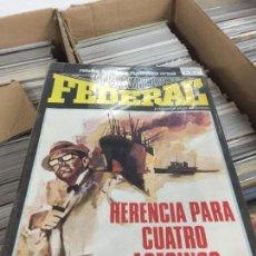 Cómics: SERVICIO FEDERAL COMPLETA EN MUY BUEN ESTADO. Lote 142368782
