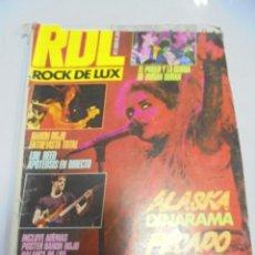 Cómics: REVISTA. RDL ROCK DE LUX. Nº 3. ALASKA DINARAMA.. Lote 142494302