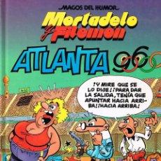 Cómics: MORTADELO Y FILEMON.MAGOS DEL HUMOR. ATLANTA 96.F. IBAÑEZ. EDICIONES B.. Lote 142562602