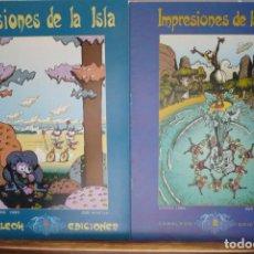Cómics: IMPRESIONES DE LA ISLA. PORTELA & IGLESIAS. CAMALEÓN EDICIONES.. Lote 142789050