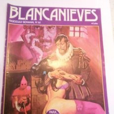 Cómics: BLANCANIEVES - NUM 44 - COMIC PARA ADULTOS - EROTICO - EDIT. ACTUAL - 1977. Lote 142805582