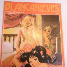 Cómics: BLANCANIEVES - NUM 28 - COMIC PARA ADULTOS - EROTICO - EDIT. ACTUAL - 1977. Lote 142805782
