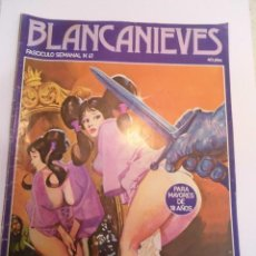 Cómics: BLANCANIEVES - NUM 41- COMIC PARA ADULTOS - EROTICO - EDIT. ACTUAL - 1977. Lote 142806526