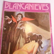 Cómics: BLANCANIEVES - NUM 40- COMIC PARA ADULTOS - EROTICO - EDIT. ACTUAL - 1977. Lote 142806638