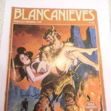 Cómics: BLANCANIEVES - NUM 47- COMIC PARA ADULTOS - EROTICO - EDIT. ACTUAL - 1977. Lote 142806822