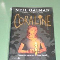 Cómics: CORALINE (ROCA) NEIL GAIMAN. Lote 158331716