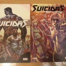 Cómics: SUICIDAS (COMPLETA), DE ECC (LEE BERMEJO). Lote 142858770