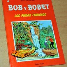 Cómics: BOB Y BOBET - Nº 1 - LOS FURAX FURIOSOS - DE WILLY VANDERSTEEN - EDITORIAL PLAZA JOVEN - AÑO 1989. Lote 142999658