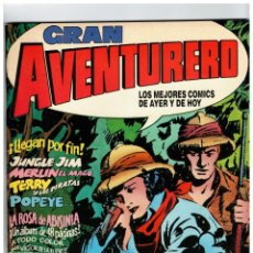 Cómics: GRAN AVENTURERO. COMPLETA 1 AL 12. EDICIONES B 1989.. Lote 143084686