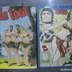 Cómics: CHITO EXTRAORDINARIO - SERIE ISLA LOCA / COMPLETA DE CARRILLO. Lote 155719125