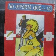 Cómics: CHITO EXTRAORDINARIO - NO IMPORTA QUÉ & CIA / MORA Y LONGARÓN. Lote 213464698