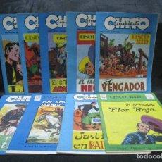 Cómics: CHITO EXTRAORDINARIO - CISCO KID / SERIE COMPLETA POR JOSE LUÍS SALINAS. Lote 155718941