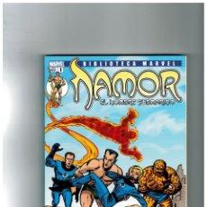 Cómics: BIBLIOTECA MARVEL -NAMOR- COMPLETA 1 AL 15. PANINI,2006. EXCELENTE.. Lote 143091910