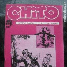Cómics: CHITO COLECCIÓN Nº 21 / ESPECIAL CARRILLO Y ATHOS COZZI. Lote 222252503