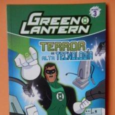 Cómics: GREEN LANTERN, 4. TERROR DE ALTA TECNOLOGÍA - MICHAEL A. STEELE. Lote 143127513