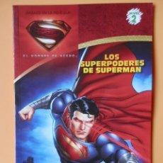 Cómics: LOS SUPERPODERES DE SUPERMAN. EL HOMBRE DE ACERO - FRANK WHITMAN. Lote 143127521