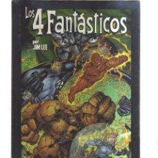 Cómics: LOS 4 FANTASTICOS POR JIM LEE HEROES REBORN. Lote 143286830