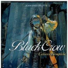 Cómics: BLACK CROW -COLECCIÓN COMPLETA- EDICIÓN LIMITADA.COFRE CON 2 TOMOS.YERMO EDICIONES.NUEVOS.. Lote 143540290
