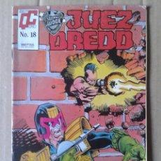 Cómics: JUEZ DREDD N°18 (MC EDICIONES / QUALITY COMICS). 32 PÁGINAS A COLOR MÁS CUBIERTAS.. Lote 143601190
