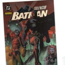 Cómics: BATMAN SILENCIO. Lote 143601478