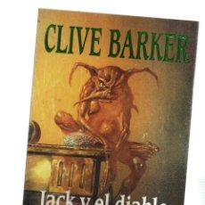 Cómics: CLIVE BARKER JACK Y EL DIABLO. Lote 143605774