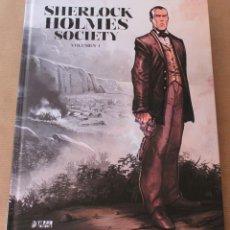 Cómics: SHERLOCK HOLMES SOCIETY - INTEGRAL 1 - YERMO EDICIONES - NUEVO. Lote 143606134