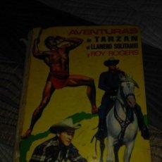 Cómics: AVENTURAS DE TARZAN,EL LLANERO SOLITARIO Y ROY ROGERS. EDITORIAL FHER LAIDA. Lote 143614710