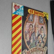 Cómics: MARTÍNEZ EL FACHA Y FAMILIA / PENDONES DEL HUMOR Nº 8 - EL JUEVES 1990. Lote 143630110