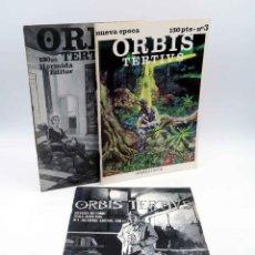 Cómics: FANZINE ORBIS TERTIUS TERTIVS 1 2 3. COMPLETA (VVAA) HERMIDA EDITOR, 1982. Lote 211433715