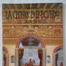 Cómics: LA CRONICA DE LEODEGUNDO. XII. JACOB EN BETEL. GASPAR MEANA. COMICS DEL PEXE. 1996. EN ASTURIANO. RU. Lote 143961394