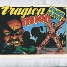 Cómics: ZARPA DE LEON FACSIMIL NUMERO 36: TRAGICA VISION. Lote 143985050