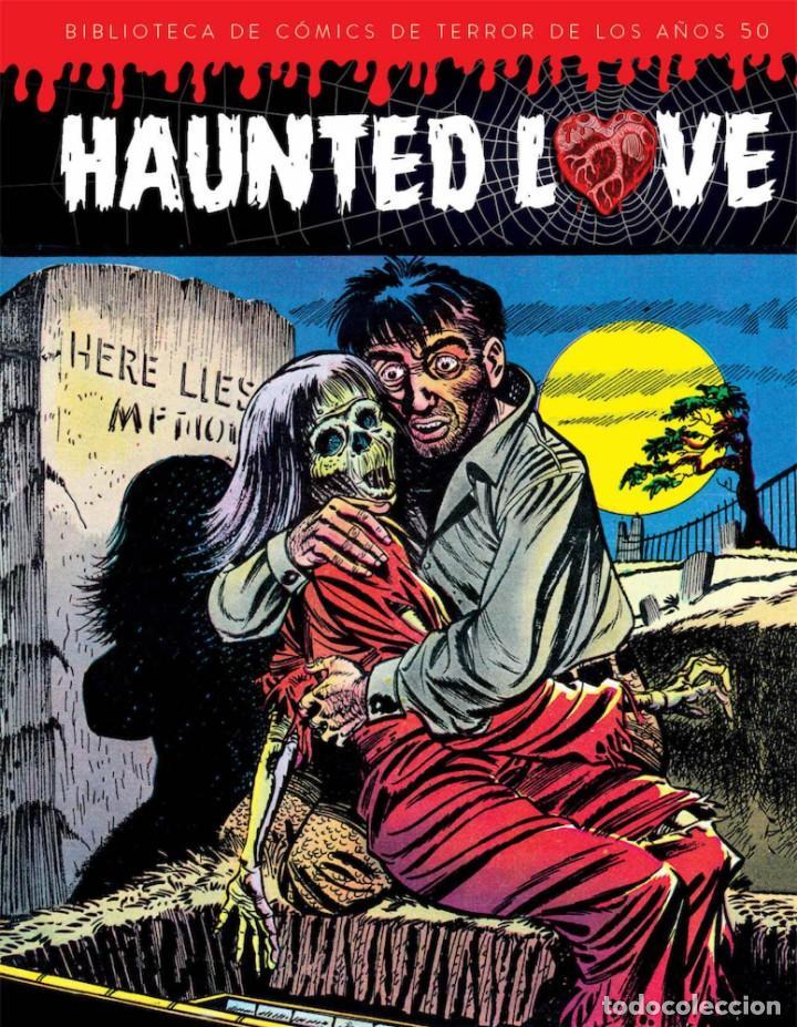 HAUNTED LOVE - BIBLIOTECA DE CÓMICS DE TERROR DE LOS AÑOS 50 I - DIÁBOLO EDICIONES (Tebeos y Comics - Comics otras Editoriales Actuales)