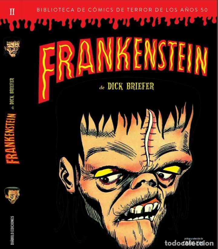 FRANKENSTEIN - DICK BRIEFER - BIBLIOTECA DE CÓMICS DE TERROR DE LOS AÑOS 50 II - DIÁBOLO EDICIONES (Tebeos y Comics - Comics otras Editoriales Actuales)