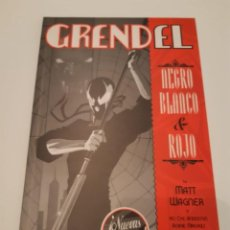 Comics - GRENDEL: NEGRO, BLANCO Y ROJO, MATT WAGNER - 144229398