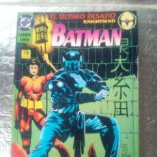 Cómics: BATMAN-LIBRO 1-EL ULTIMO DESAFIO-DC-ZINCO EDICIONES-. Lote 144253822