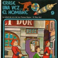Cómics: ERASE UNA VEZ.. EL HOMBRE. FASCICULO 9. EDICIONES JUNIOR/GRIJALBO 1979.(ST/A00). Lote 144261654