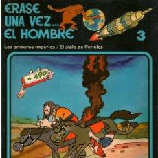Cómics: ERASE UNA VEZ.. EL HOMBRE. FASCICULO 3. EDICIONES JUNIOR/GRIJALBO 1979.(ST/A00). Lote 144262326