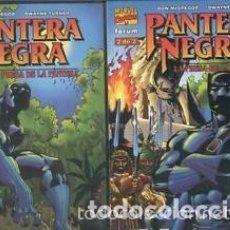 Cómics: LOTE PANTERA NEGRA: LA PRESA DE LA PANTERA - COMPLETA 2 NÚMEROS - FORUM NUEVOS EXCELENTE ESTADO. Lote 97165023