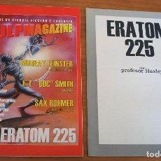 Cómics: PULPMAGAZINE - NÚMERO 6 - CONTIENE ERATOM 225 - AÑO 2002 - MUY BUEN ESTADO. Lote 144640558