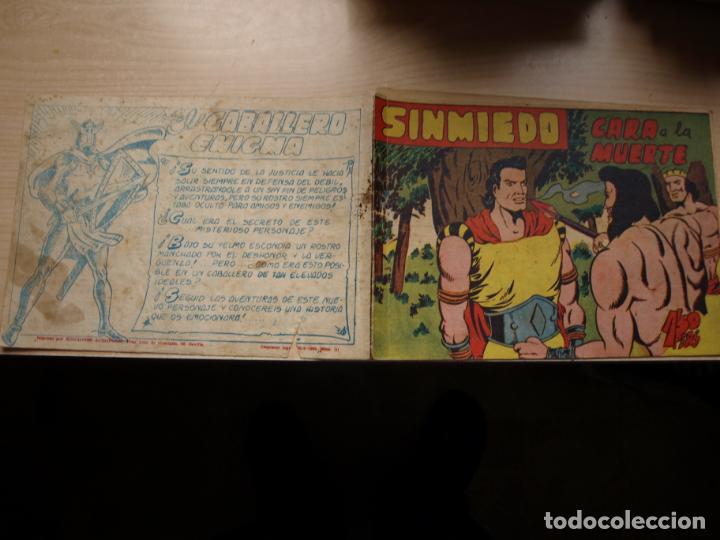 SINMIEDO - NÚMERO 50 - EDICIONES ACROPOLIS (Tebeos y Comics Pendientes de Clasificar)
