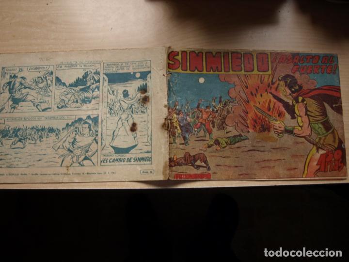 SINMIEDO - NÚMERO 35 - EDICIONES ACROPOLIS (Tebeos y Comics Pendientes de Clasificar)
